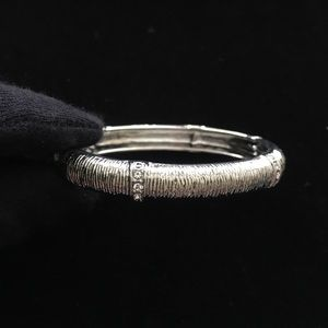 Silver bracelet with crystal brand new